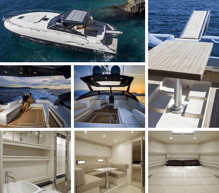 Noleggio Yacht Arkimede vacanze di lusso. Ideale per coppie, famiglie o piccoli gruppi di amici, concediti ora un momento di relax.