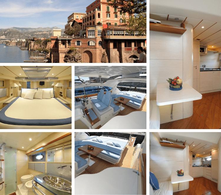 Deluxe Rooms Sorrento, hotel galleggiante di lusso situato nel cuore turistico di Sorrento per rendere il tuo soggiorno indimenticabile.