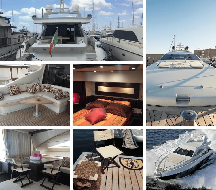 Suite overwater Castellammare super yacht di grande impatto senza rinunciare al lusso e alle comodità. Colazione a bordo inclusa nel prezzo.